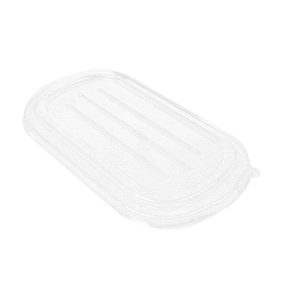 Couvercle transparent pour Barquette bagasse 23,6x13,5x1,4cm - par 500