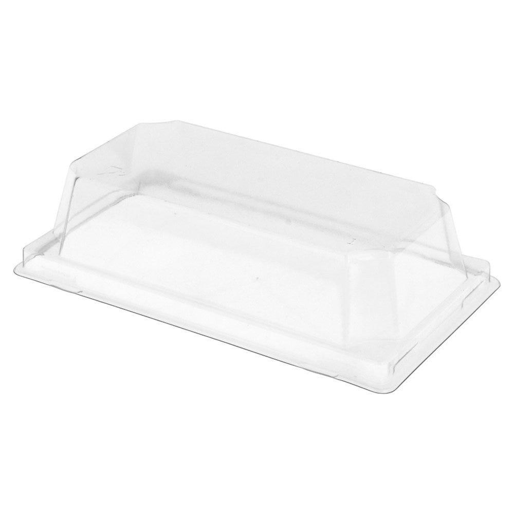 Couvercle transparent PET hauteur 3,7cm pour barquette 59140 - par 1000