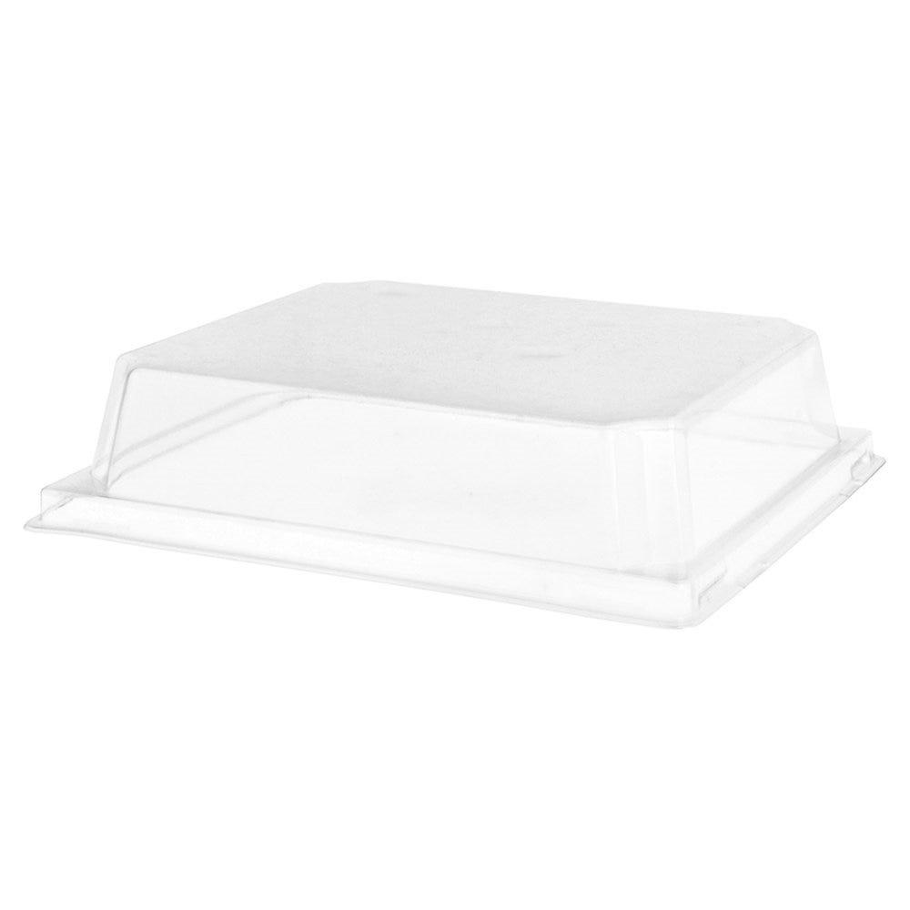 Couvercle transparent PET hauteur 3,7cm pour barquette 59141 - par 1000