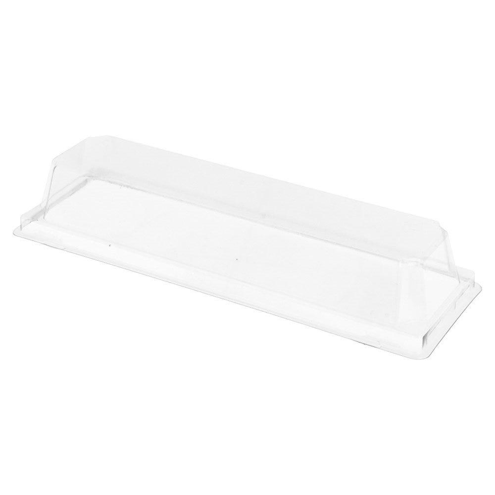 Couvercle transparent PET hauteur 3,7cm pour barquette 59143 - par 1000