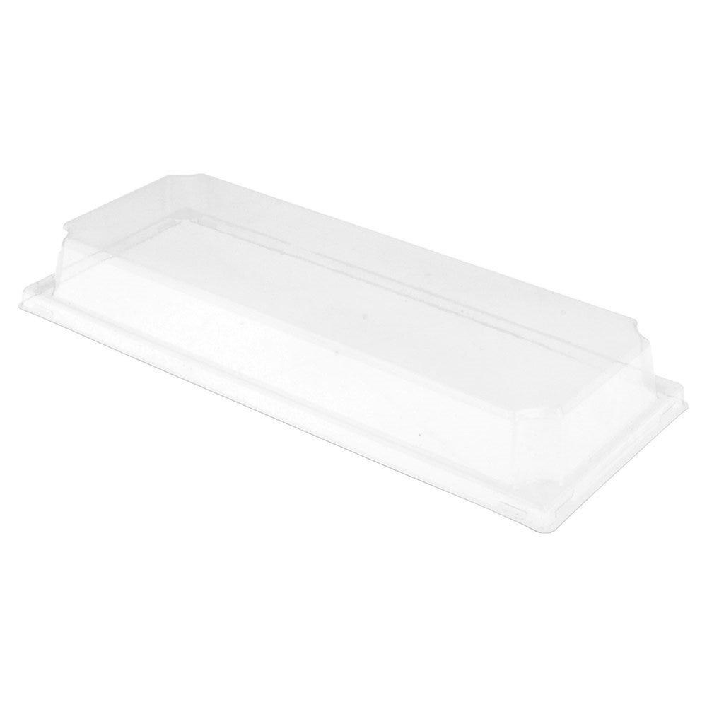 Couvercle transparent PET hauteur 3,7cm pour barquette 59144 - par 1000