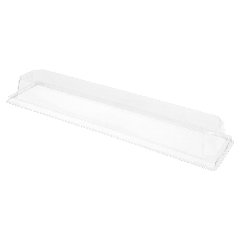 Couvercle transparent PET hauteur 3,7cm pour barquette 59145 - par 1000