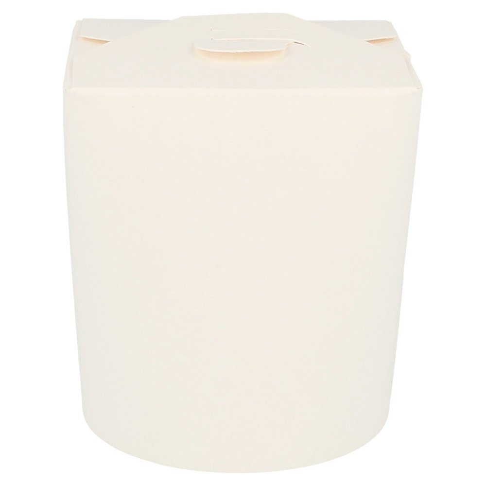 Boite à pâtes blanche 480ml Ø8x9cm - par 50