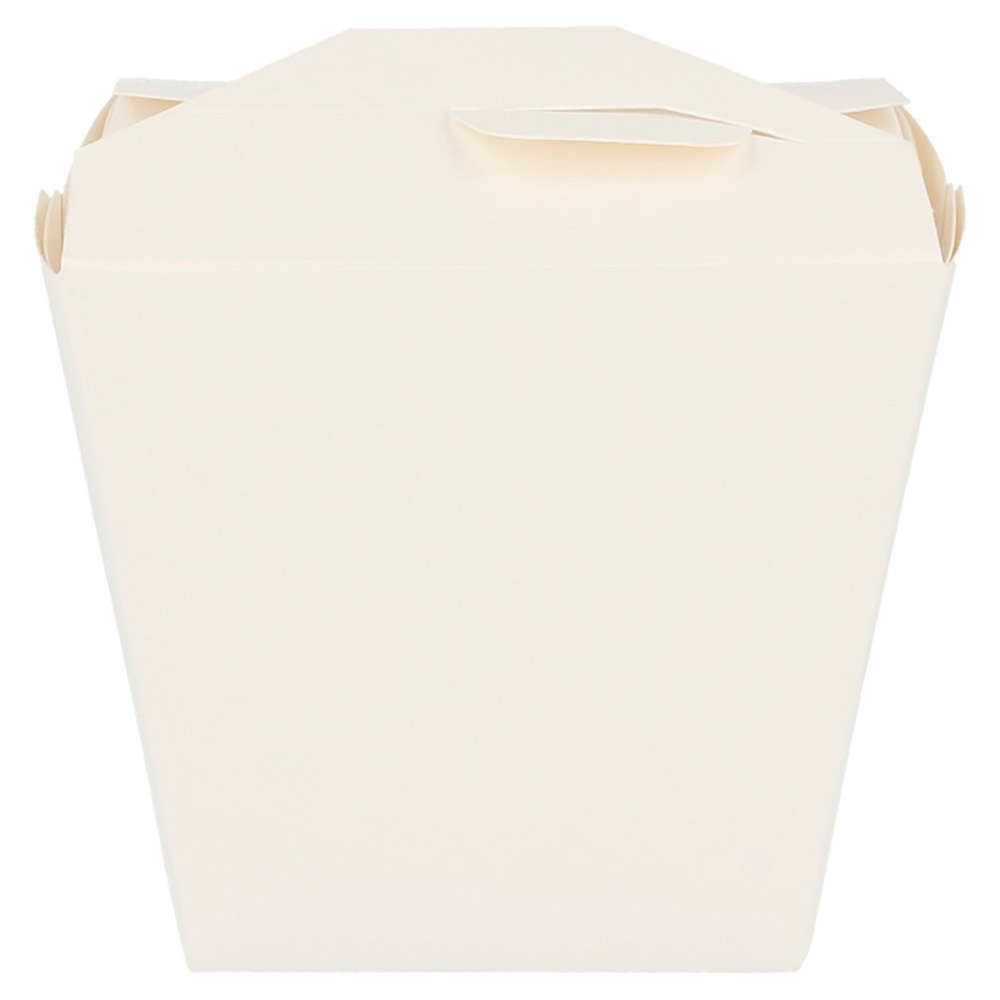 Boite à pâtes blanche à fermeture croisillon 7,7x5,7x9cm - par 50
