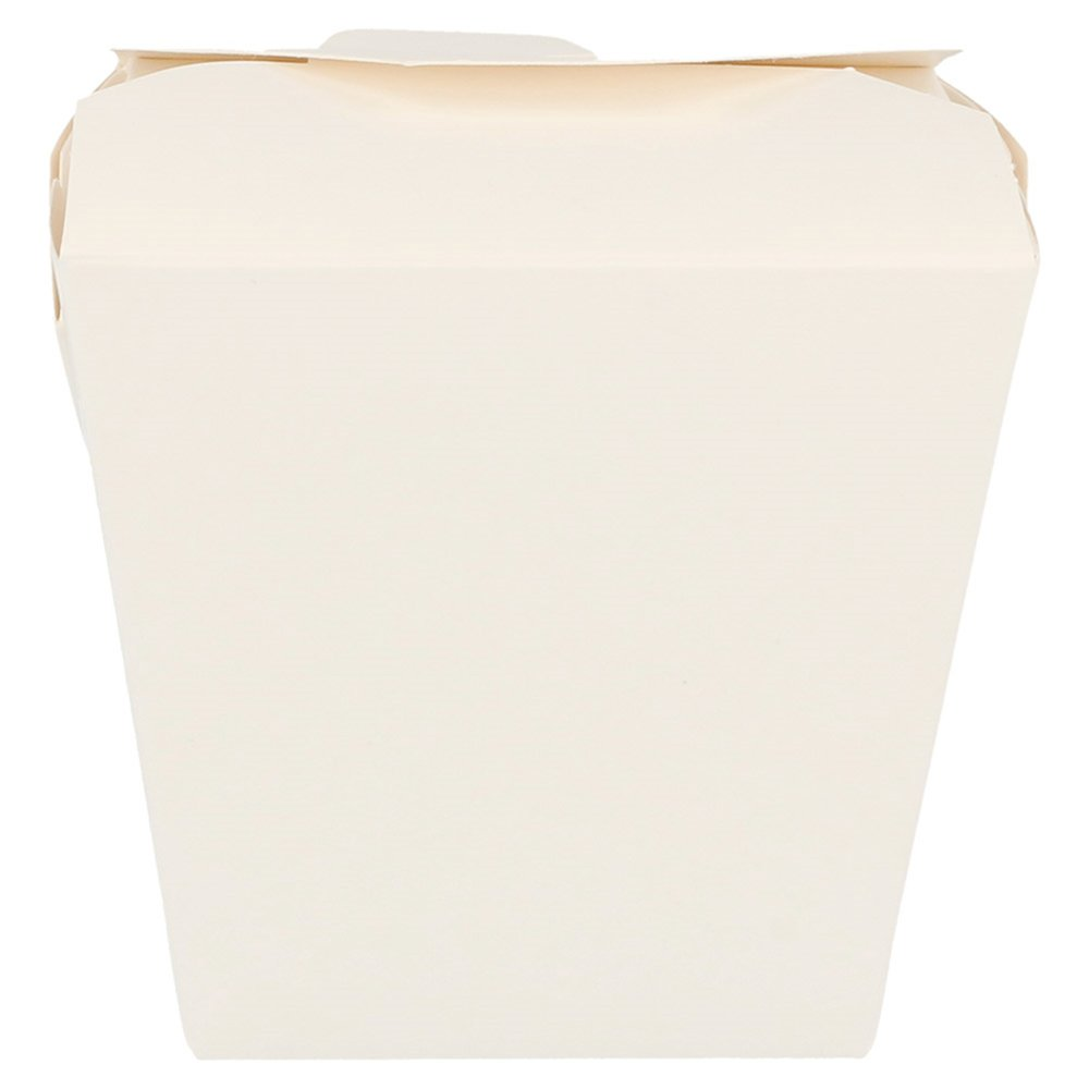Boite à pâtes blanche à fermeture croisillon 8x7x10,5cm - par 50
