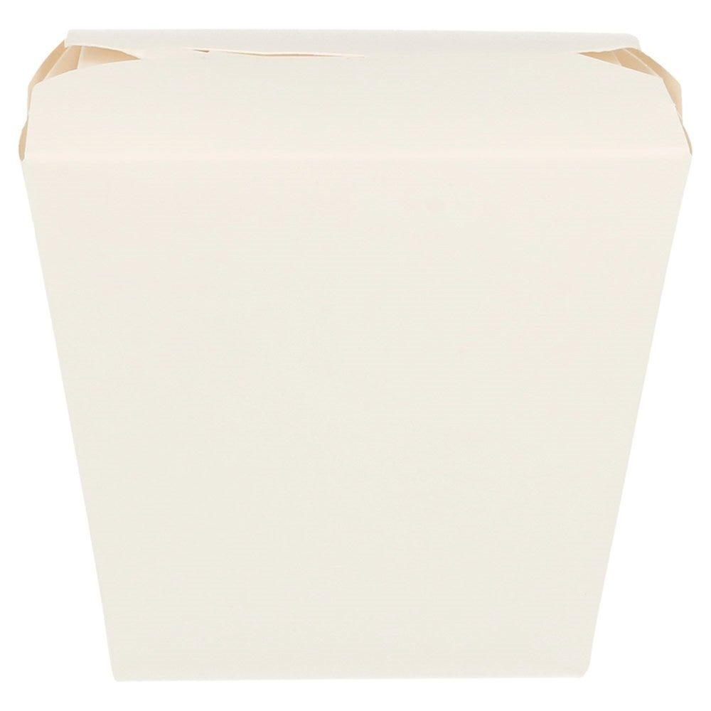 Boite à pâtes blanche à fermeture croisillon 9x7,5x11cm - par 50