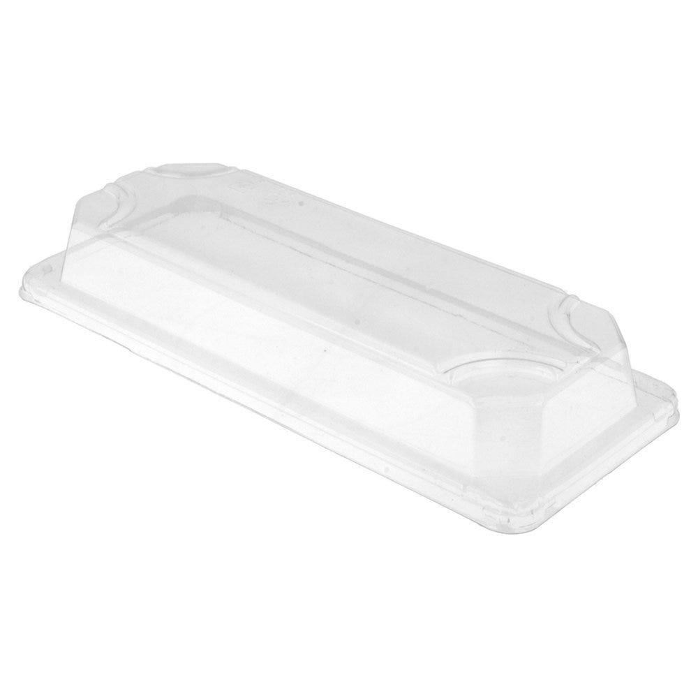 Couvercle transparent OPS 22,2x9,6x3,2cm pour boîte sushis 59189 - par 800