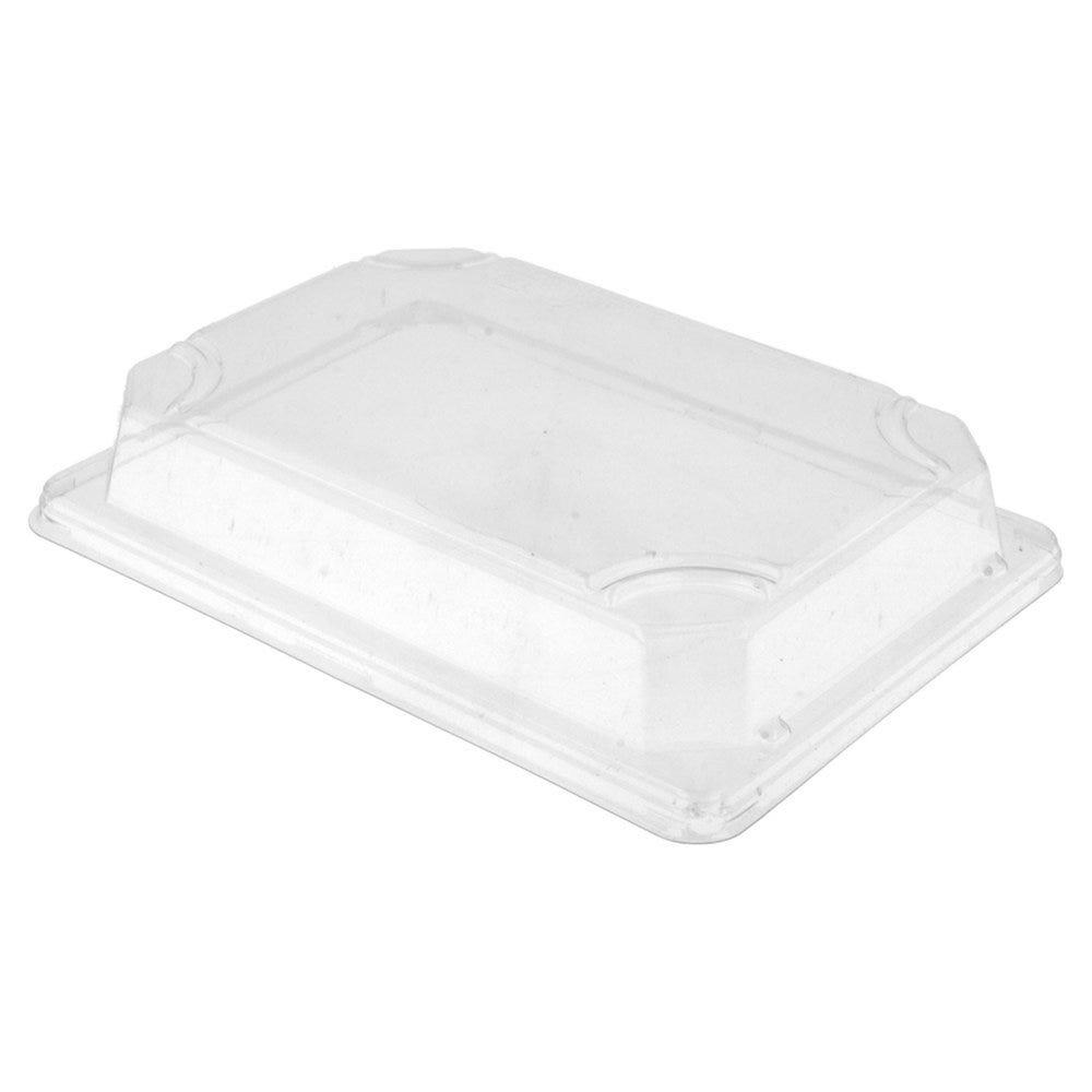 Couvercle transparent OPS 19x13,6x3,2cm pour boîte sushis 59190 - par 800