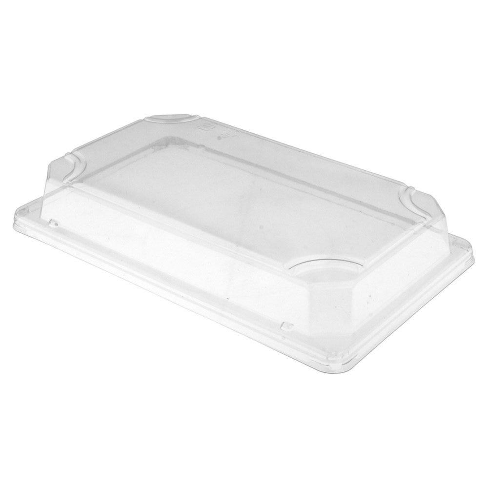 Couvercle transparent OPS 21,5x13,8x3,2cm pour boîte sushis  59191 - par 800