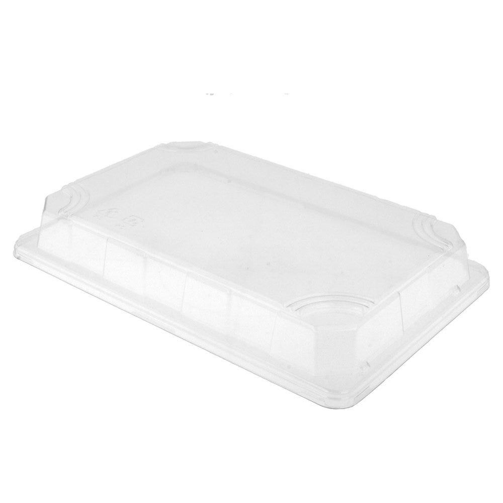 Couvercle transparent OPS 24x16x3cm pour Boîte sushis 59192 - par 800