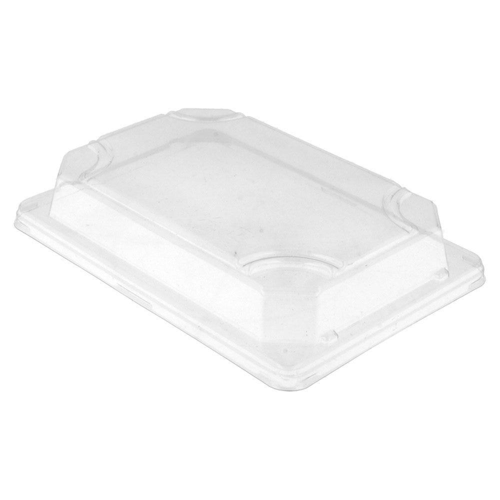 Couvercle transparent OPS 17x12x3,2cm pour Boîte sushis 59195 - par 1000