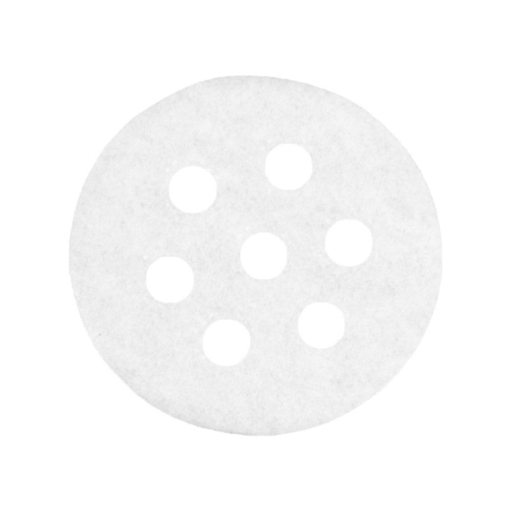Papier perforé ingraissable pour dim-sum Ø6,5cm blanc - par 2000