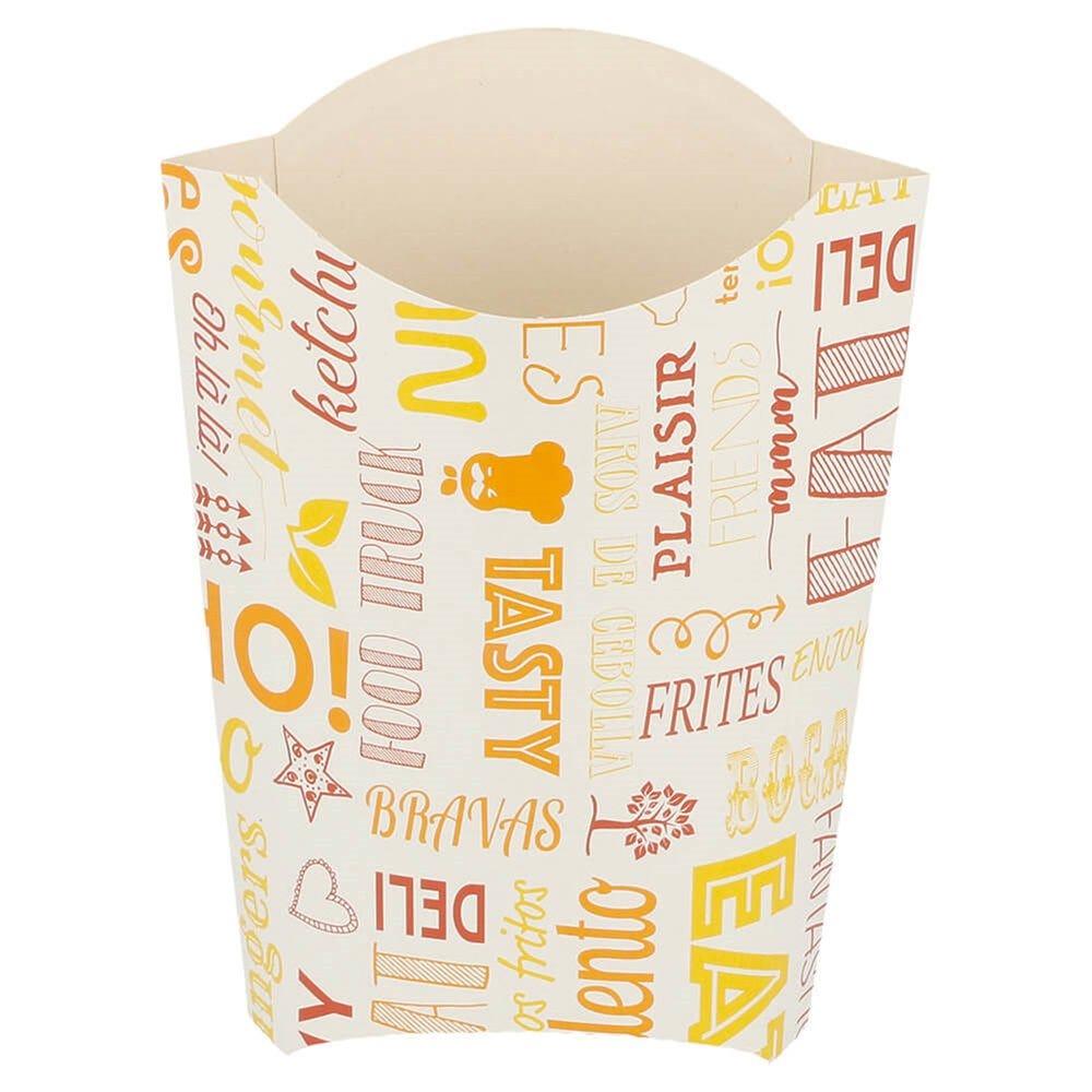 Pochette à frites Parole 190g 14,5x9,5x18cm - par 1000