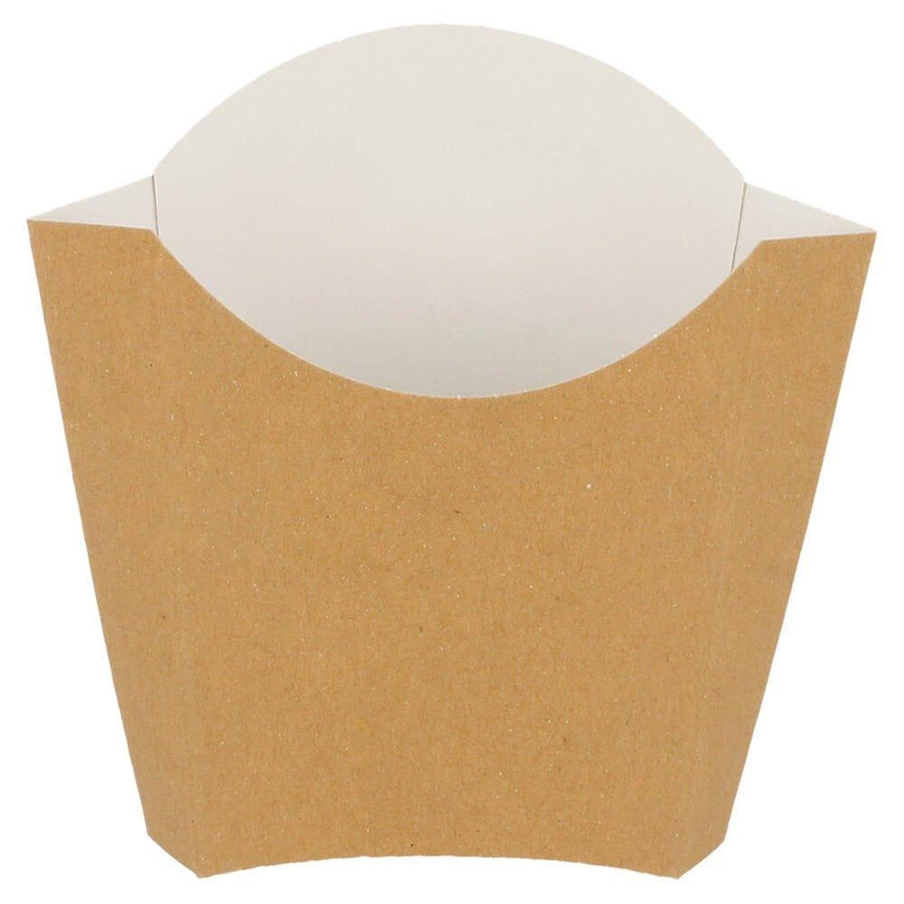 Pochette à frites carton 135g 13x8x13,5cm - par 1200