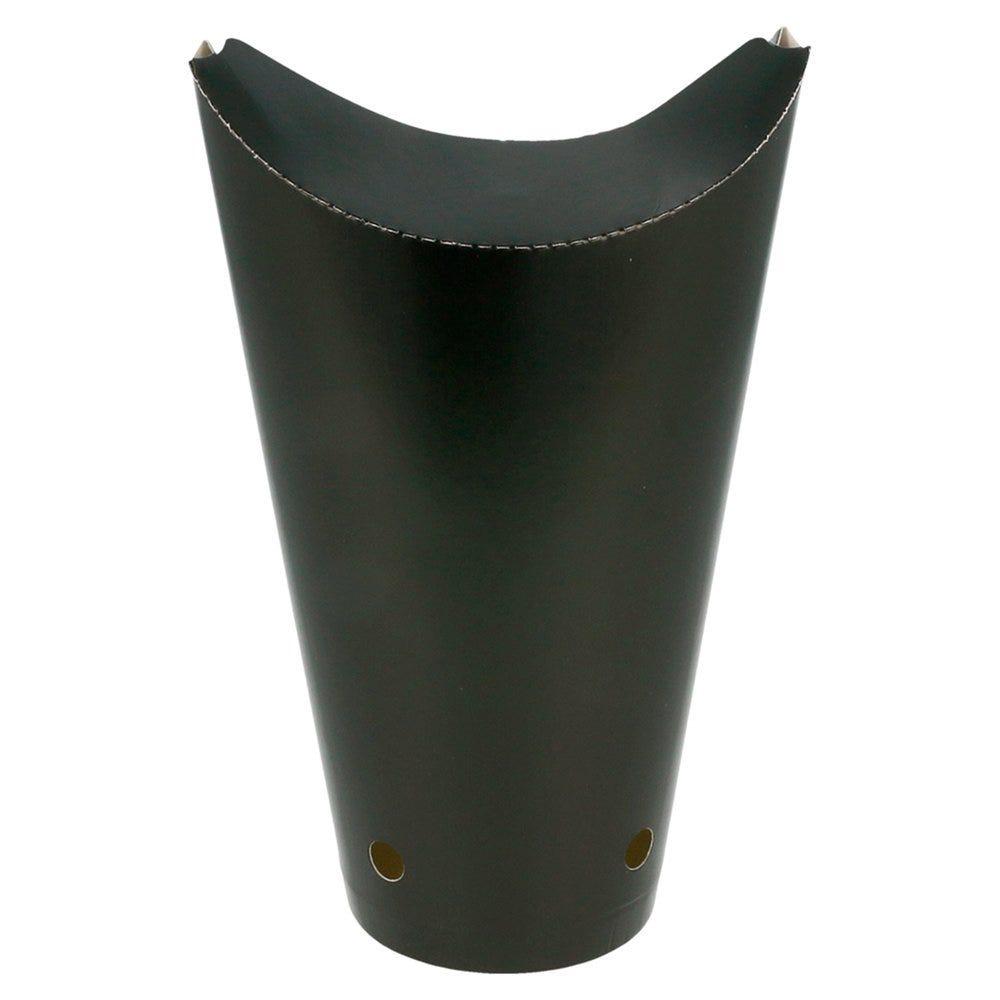 Gobelet à frites refermable Black Edition 660cc Ø8,5x18cm - par 50