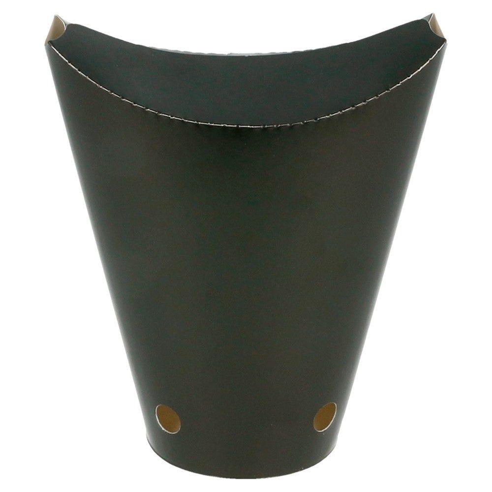 Gobelet à frites refermable Black Edition 360cc Ø6,7x12,5cm - par 100