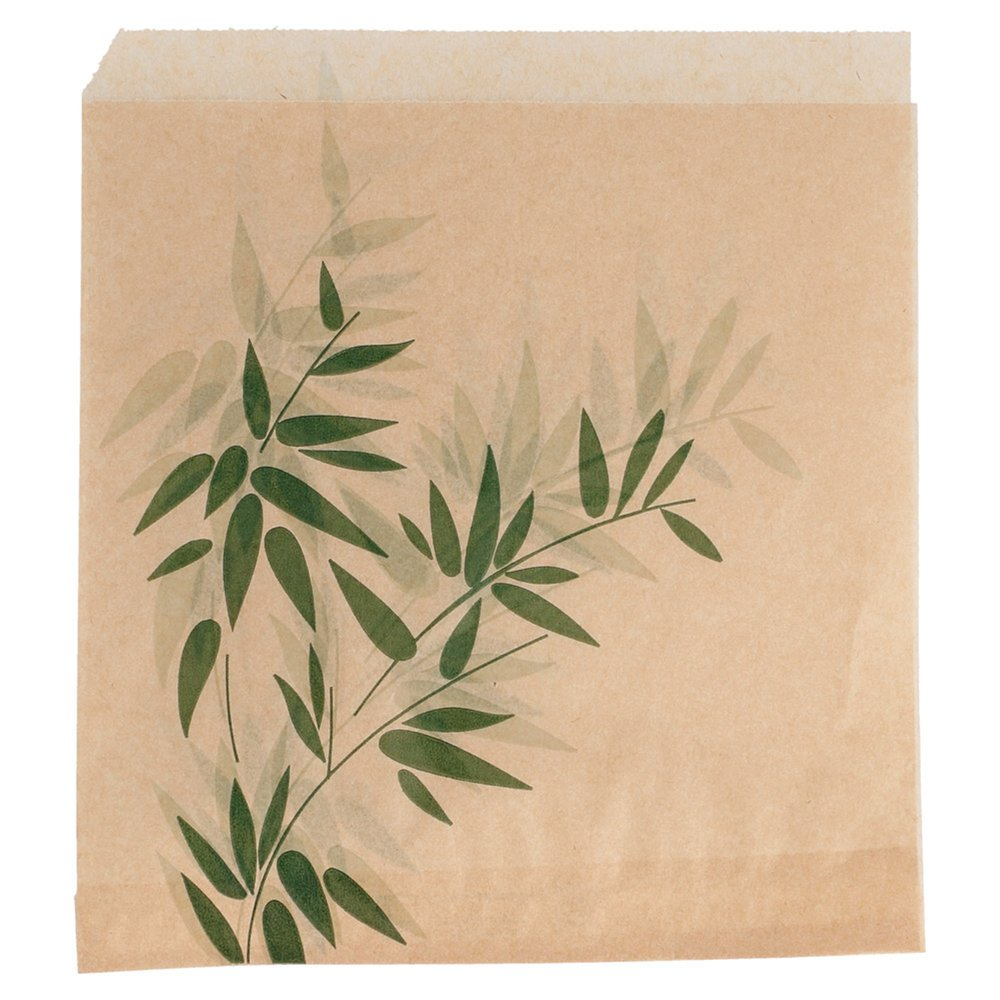 Sachet papier ingraissable Feel Green 2 côtés ouverts 16x16,5cm - par 500