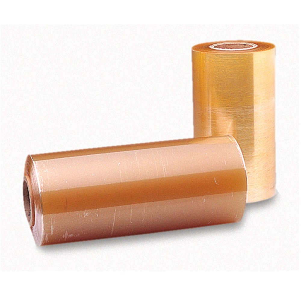 Bobine de film étirable PVC grande longueur 8,5µ 0,45x1500m