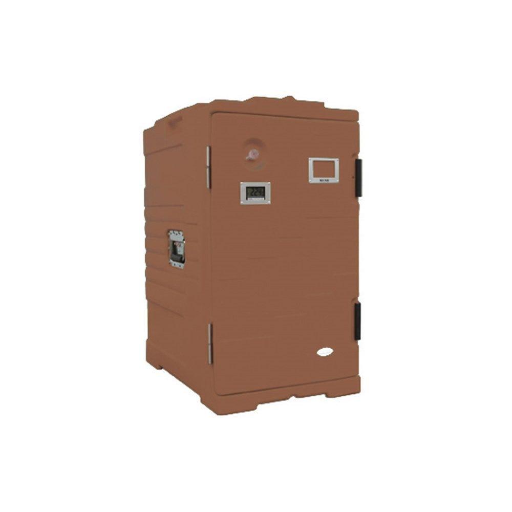 Armoire isotherme plastique marron 115L 61x43x81cm (photo)