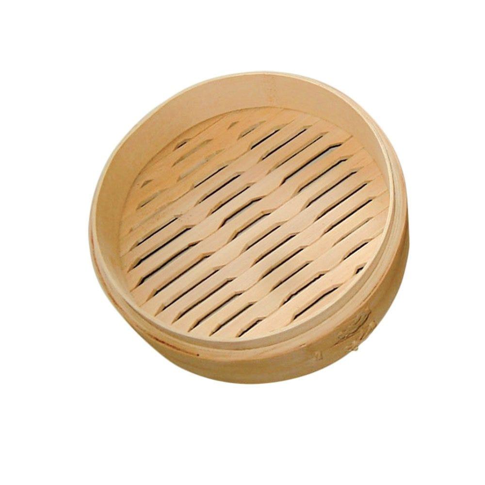 Panier Dim Sum en bambou natural Ø20x6cm - par 4