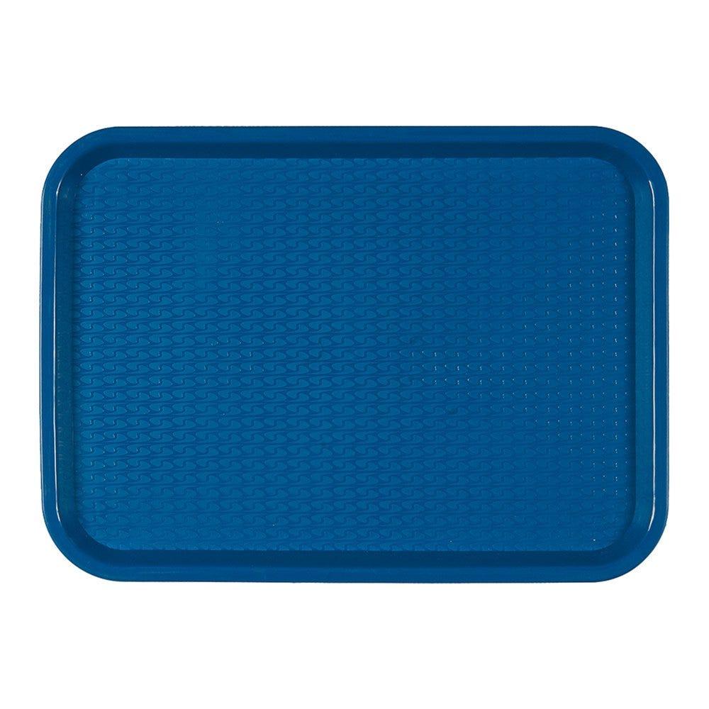 Plateau fast food bleu 27,5x35,5cm - par 1