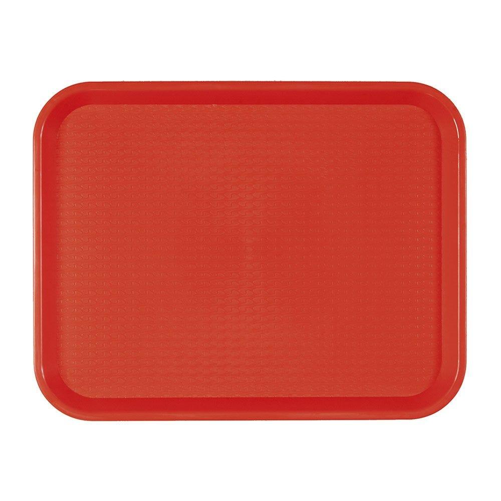 Plateau fast food rouge 30,4x41,4cm - par 1