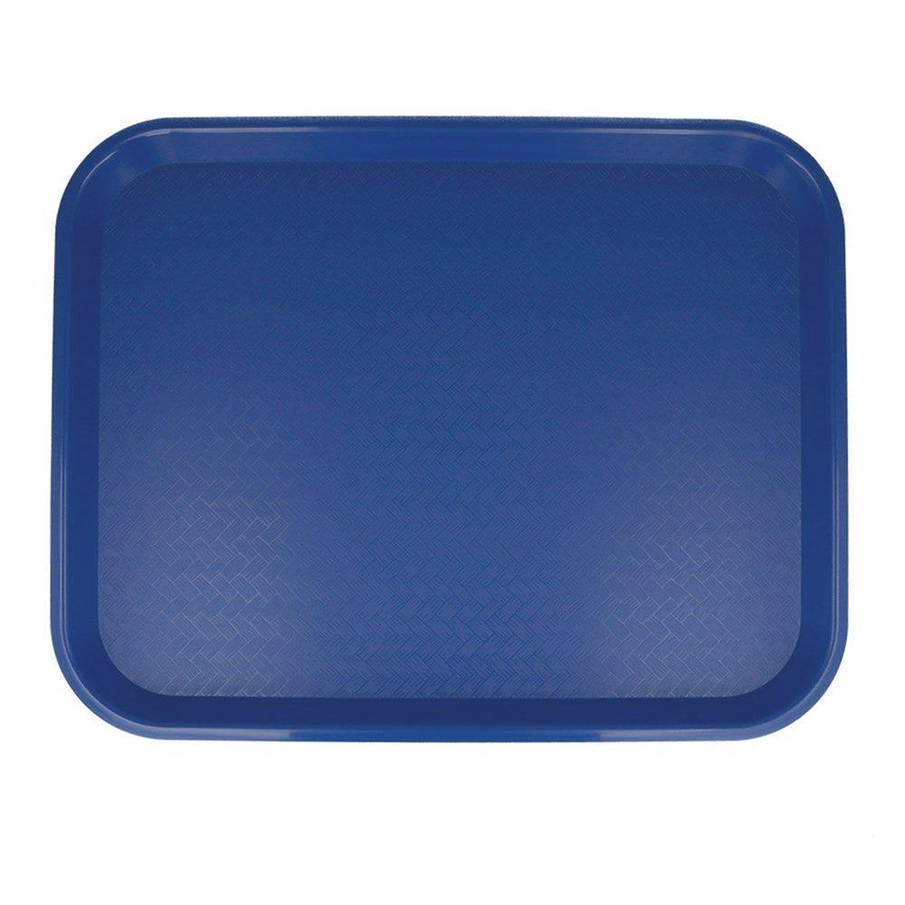 Plateau fast food bleu 35,5x45,3cm - par 1