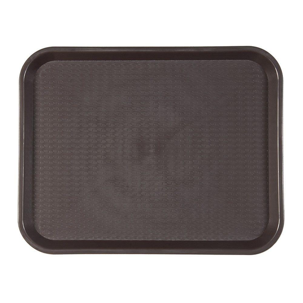 Plateau fast food chocolat 35,5x45,3cm - par 1