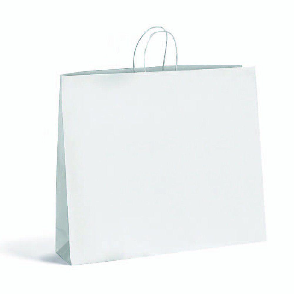 Sac Giant blanc L 54 + P 15 x H 49cm - par 24