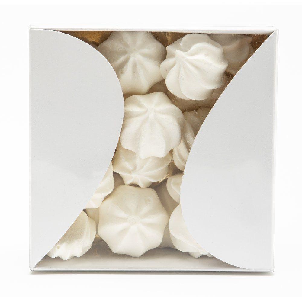 Boite gourmande blanche  8x8x4.5 cm - par 10
