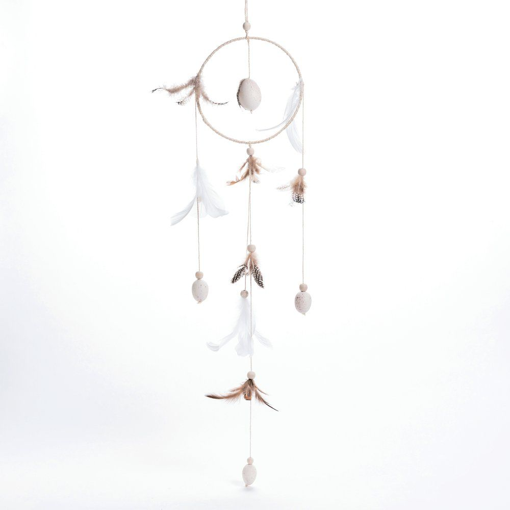 Attrape-rêves décor Pâques D 22 x H 80 cm (photo)
