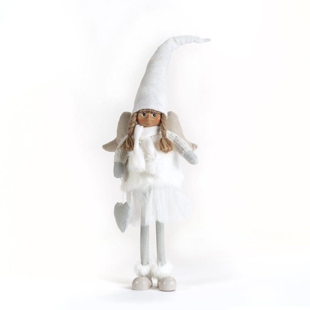 Ange blanc 41cm - 2 modèles possibles (photo)
