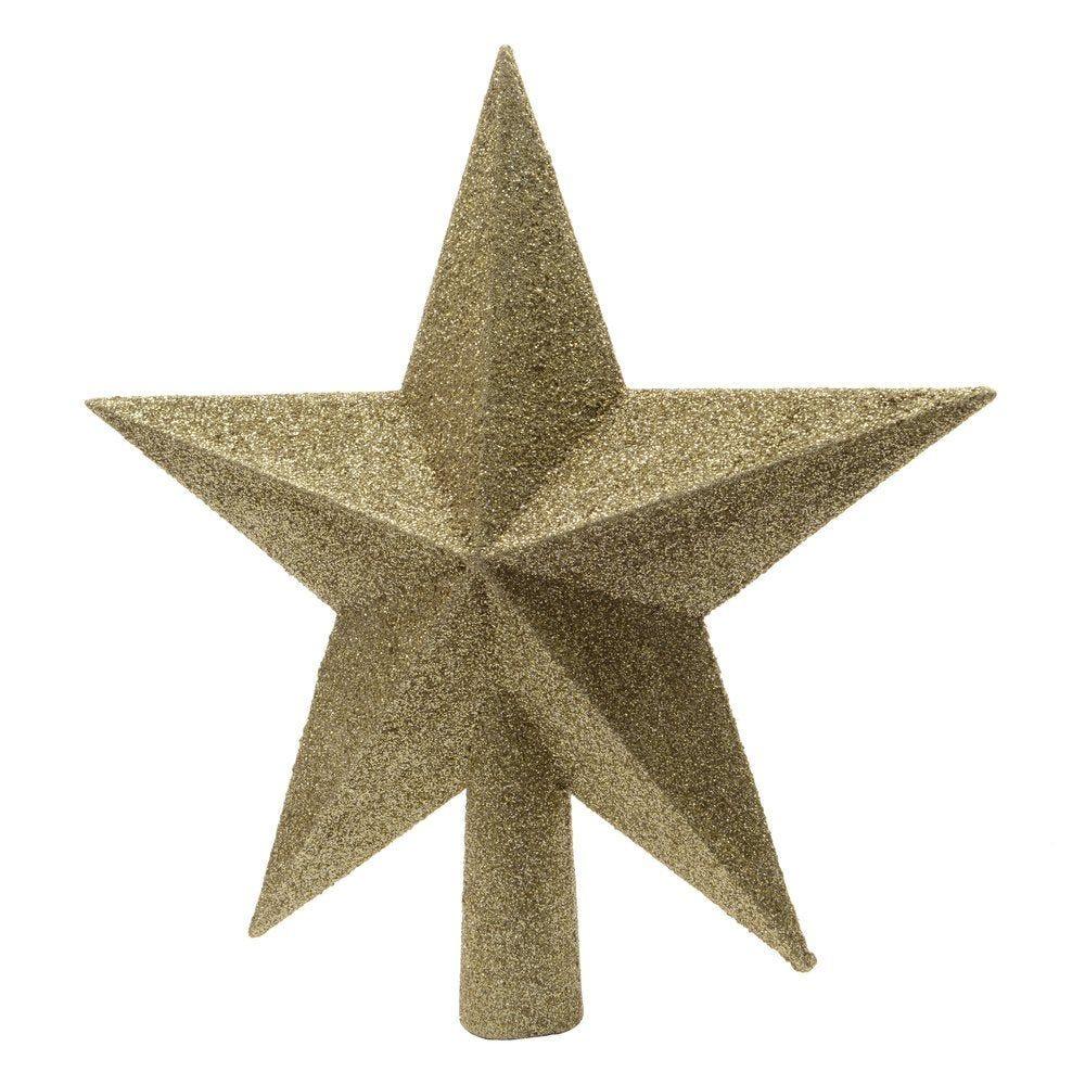 Cimier étoile or Ø 19 cm (photo)