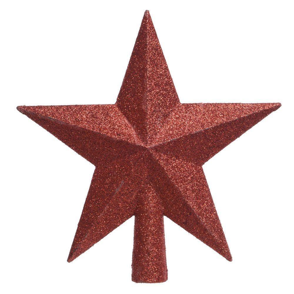 Cimier étoile rouge Ø 19 cm (photo)