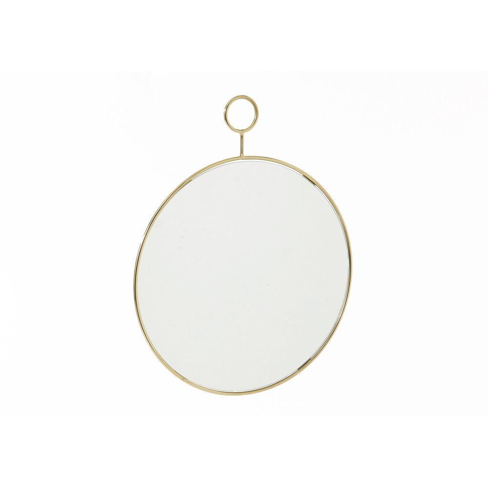 Miroir rond 32 x 40 cm