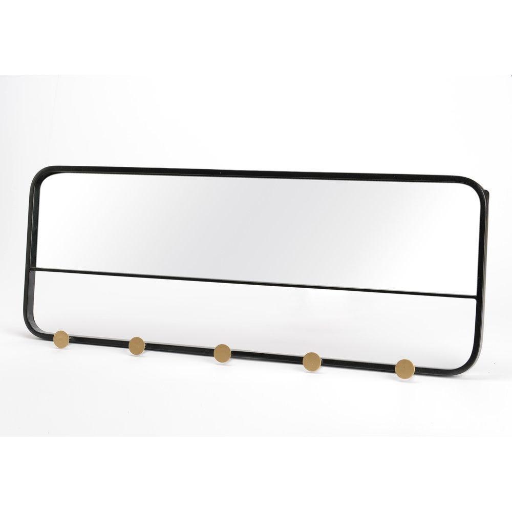 Miroir patere L80 cm