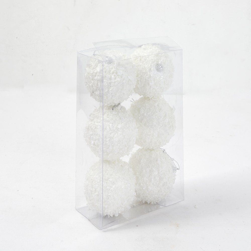 Boules de neige ø 10 cm - boite de 6