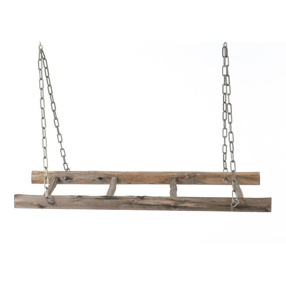 Echelle suspendue avec chaînes 101x52x15cm