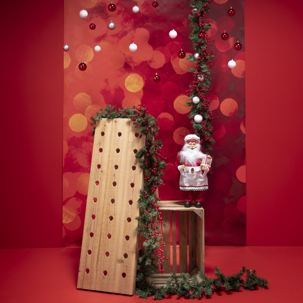 Pack vitrine Noël caviste tradition