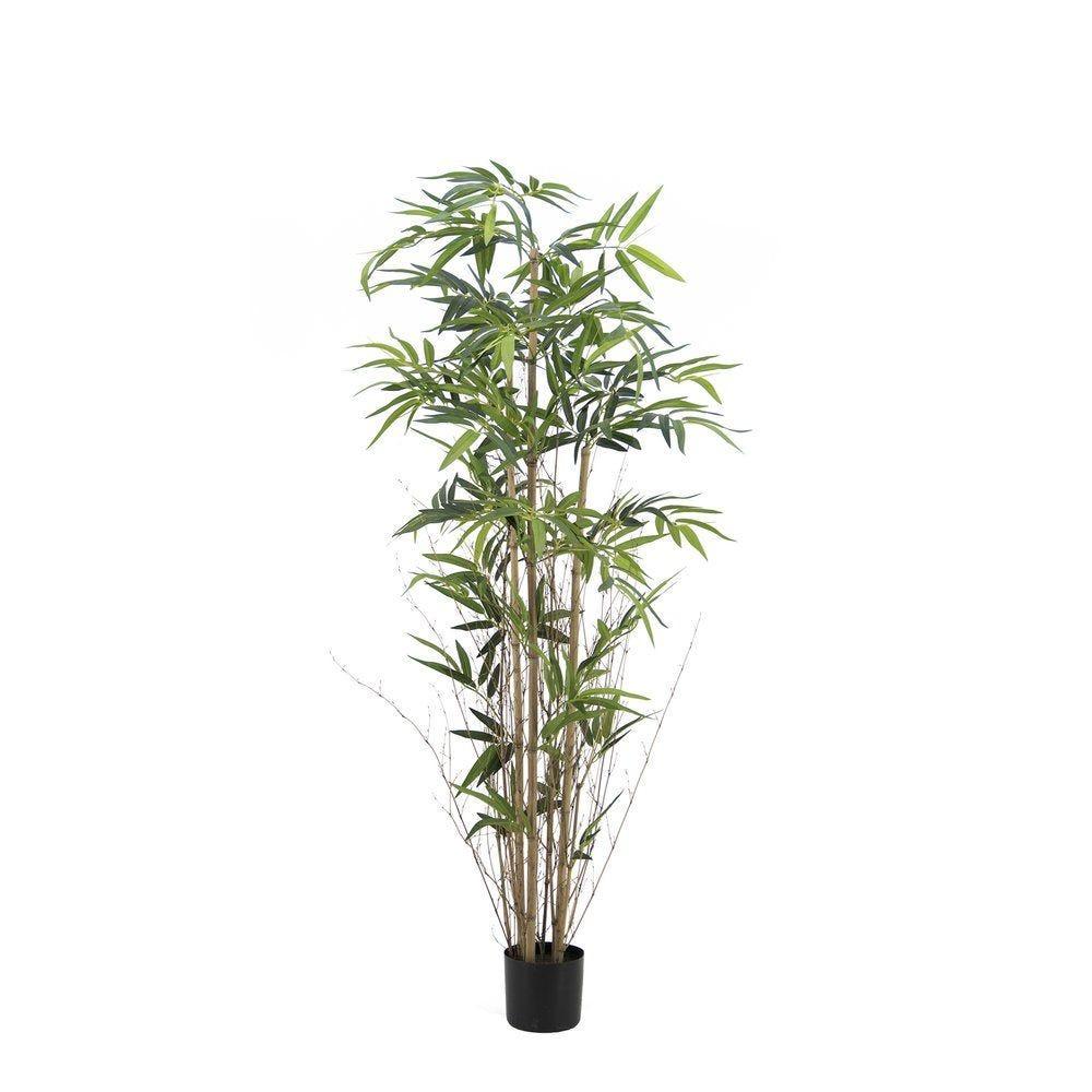 Bambou artificiel dans pot H 180 cm