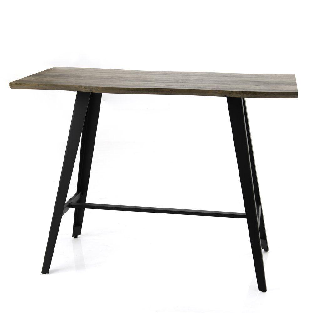 Table Joe en bois et métal 140x70x105cm