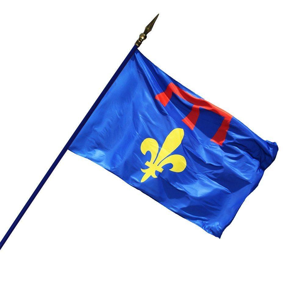 Drapeau Province 80 x 120 cm (photo)