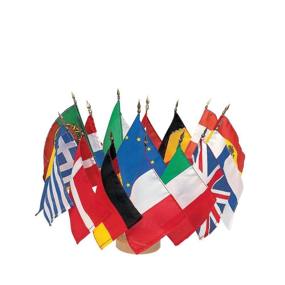 Drapeau Europe + USA (photo)