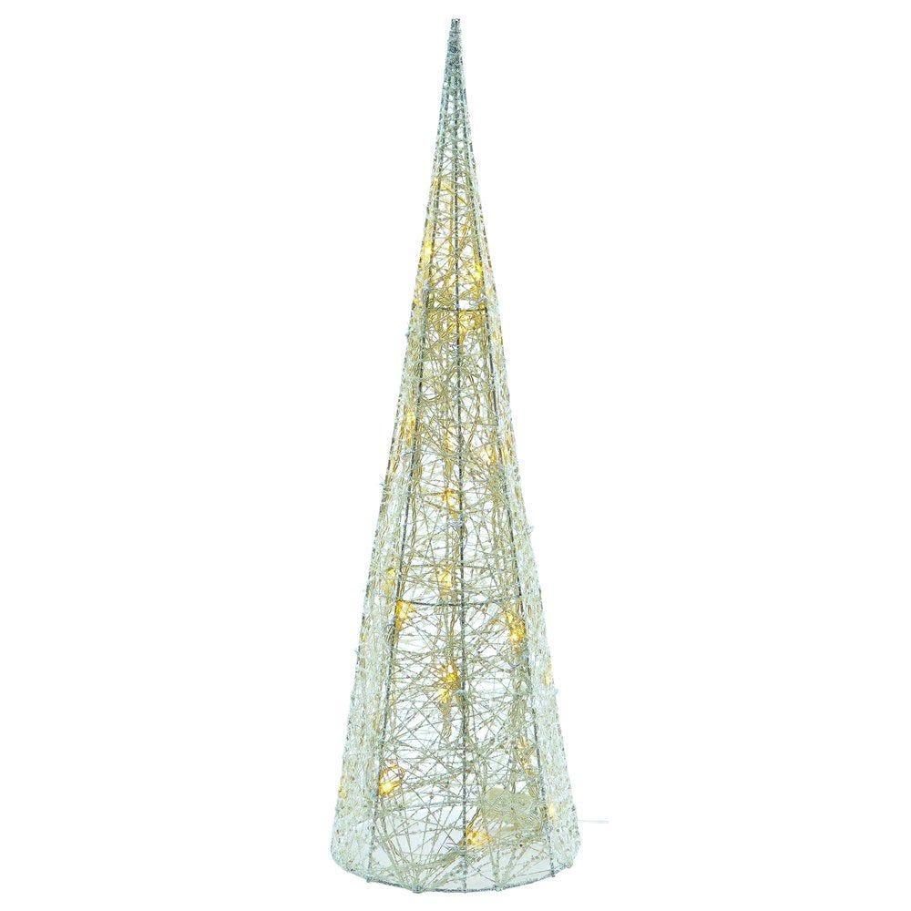 Pyramide fil coton 32 LED 60cm (photo)