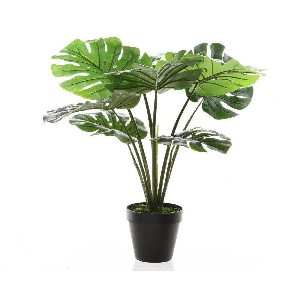 Philodendron vert artificiel dans pot 60cm (photo)