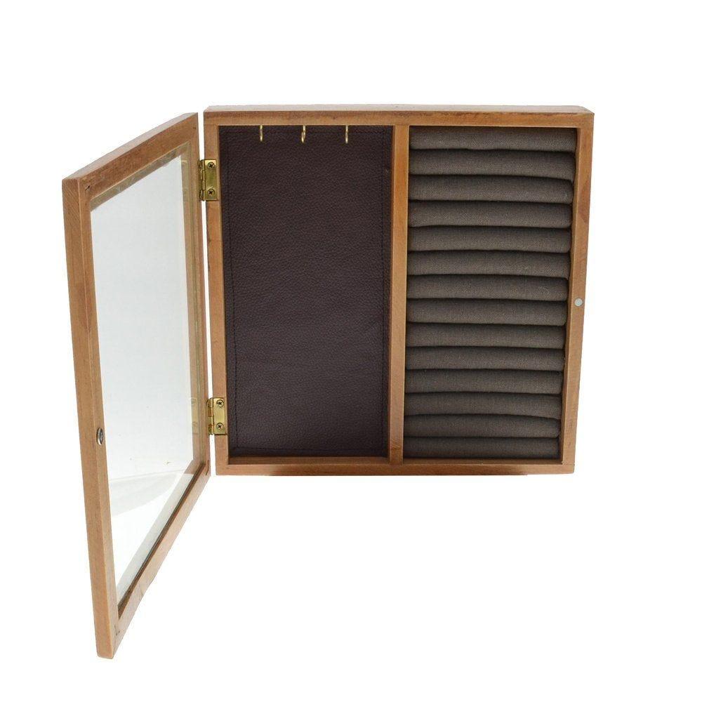 Boîte bijoux 23x17x25cm avec socle rotatif (photo)