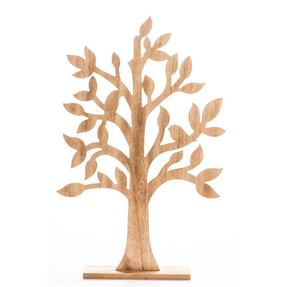Arbre en bois naturel 37x60cm (photo)