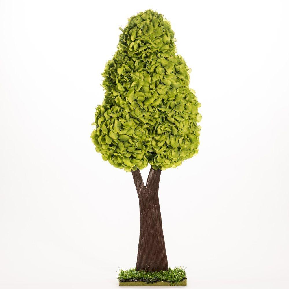 Arbre en papier vert h.75cm (photo)