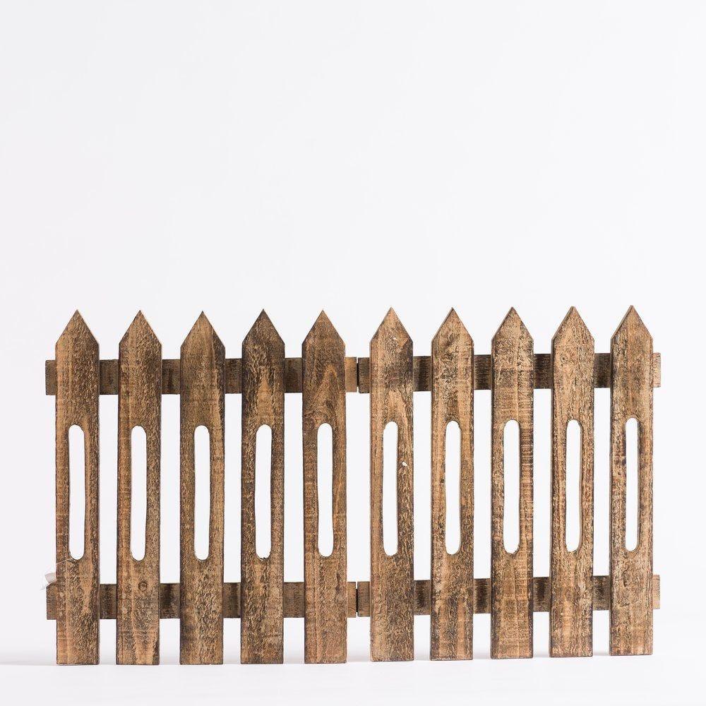 Barrière en bois naturel L 70 x H 40 cm (photo)