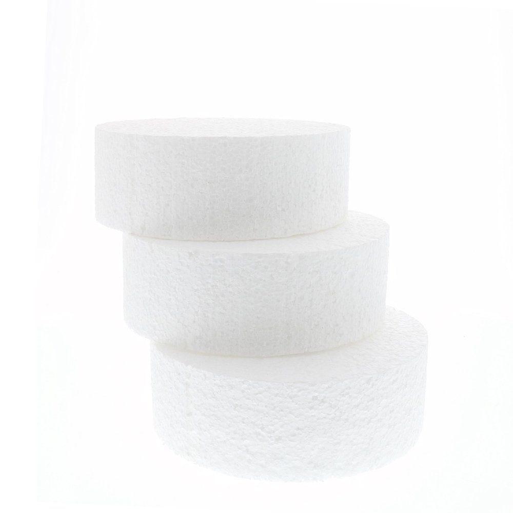 Cercle en polystyrène Ø 20 cm x H 7cm (photo)